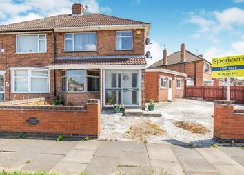 Thumbnail 3 bed semi-detached house for sale in Lydford Road, Rushey Mead, Leicester, Leicestershire