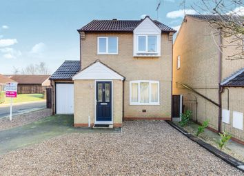 Thumbnail 3 bed detached house for sale in Windsor Gardens, Carlton-In-Lindrick, Worksop