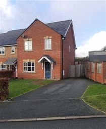 Thumbnail 3 bed terraced house to rent in 19, Meadow View, Brimmon Road, Newtown, Powys