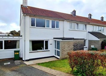 Thumbnail 4 bed end terrace house for sale in Manor Way, Heamoor, Penzance.