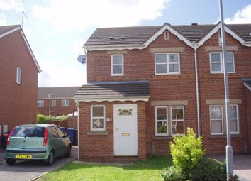Thumbnail 3 bedroom semi-detached house to rent in Mast Drive, Victoria Dock, Hull