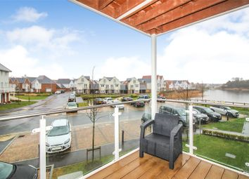 Thumbnail 2 bedroom flat to rent in Lakeview Court, Willow Close, Holborough Lakes, Kent