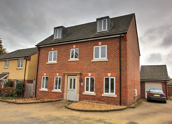 Thumbnail 5 bed detached house for sale in Sunflower Way, Andover, Hampshire