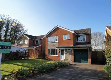 Thumbnail 5 bed detached house for sale in Danefield Road, Holmes Chapel, Crewe