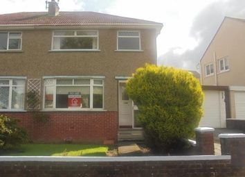Thumbnail 3 bedroom semi-detached house to rent in Larchfield Drive, Rutherglen, Glasgow