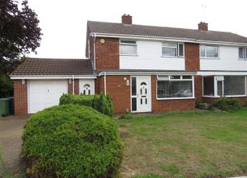 Thumbnail 3 bedroom semi-detached house for sale in Atherstone Avenue, Peterborough