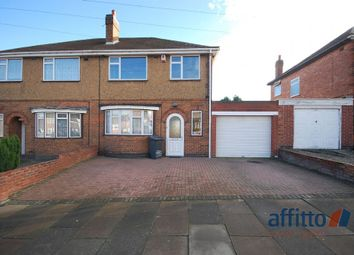 Thumbnail 3 bed semi-detached house to rent in Burnham Drive, Leicester