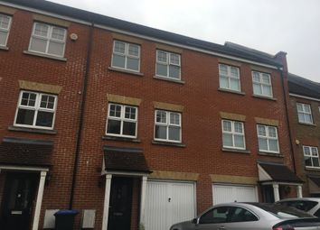 Thumbnail 3 bed town house to rent in Rose Bates Drive, London