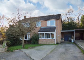 Thumbnail 4 bed detached house for sale in Hunters Close, Blofield
