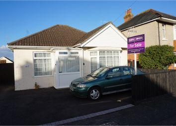 Thumbnail 2 bed detached bungalow for sale in Burcombe Road, Bournemouth