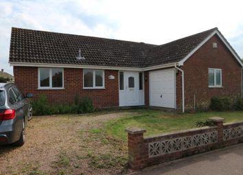 Thumbnail 3 bed bungalow for sale in 33 Ethel Gooch Road, Wymondham, Norfolk