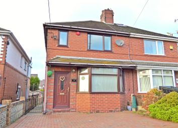 Thumbnail 3 bedroom semi-detached house to rent in Fairfield Avenue, Brown Edge, Stoke-On-Trent