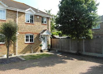 Thumbnail 2 bed semi-detached house to rent in The Fielders, Canvey Island
