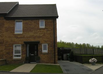 Thumbnail 3 bed semi-detached house for sale in Busby Place, Morningside, Wishaw