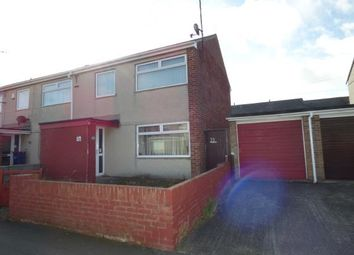 Thumbnail 3 bed end terrace house for sale in Ffordd Beibio, Holyhead, Sir Ynys Mon