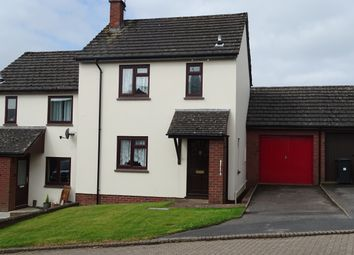 Thumbnail 2 bed semi-detached house for sale in Brook Meadow, South Molton