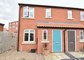 Thumbnail 2 bed end terrace house for sale in Canal Close, Louth