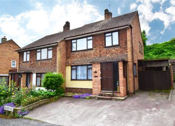Thumbnail 3 bed semi-detached house for sale in Lower Croft, Swanley, Kent