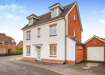 Thumbnail 5 bedroom detached house for sale in Attleborough, Norfolk