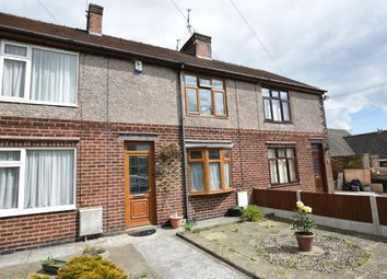 Thumbnail 2 bed terraced house for sale in High Road, South Wingfield, Alfreton, Derbyshire