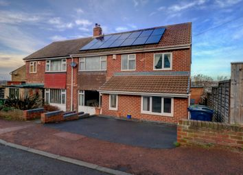 Thumbnail 5 bed semi-detached house for sale in Oaklands, Swalwell, Newcastle Upon Tyne