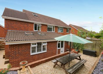 Thumbnail 4 bed semi-detached house for sale in Berkshire Drive, Exeter