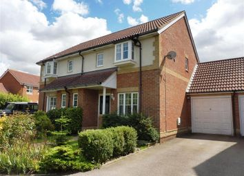 Thumbnail 3 bed semi-detached house to rent in Dove Close, Kingsnorth, Ashford