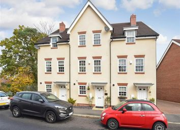 Thumbnail 4 bed town house for sale in Whittaker Drive, Horley, Surrey