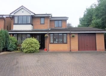 Thumbnail 4 bed detached house for sale in Barney Close, Tipton