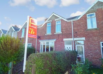 Thumbnail 3 bed terraced house to rent in East View, Bedlington