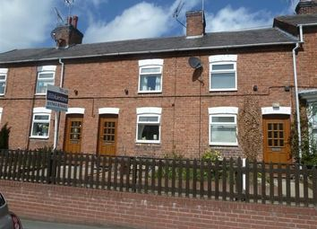Thumbnail 2 bed terraced house to rent in Wrexham Road, Whitchurch
