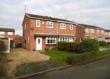 Thumbnail 2 bed semi-detached house to rent in Gillow Close, Leighton, Crewe