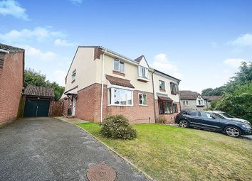 Thumbnail 4 bed semi-detached house for sale in Chestnut Drive, Newton Abbot, Devon