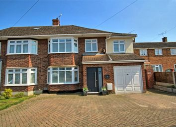 Thumbnail 4 bed semi-detached house for sale in Chelmer Drive, Hutton, Brentwood, Essex