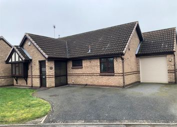 Thumbnail 2 bed detached bungalow for sale in Longbow Grove, Stretton, Burton-On-Trent, Staffordshire