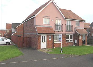 Thumbnail 3 bed semi-detached house to rent in Howard Walk, Barley Rise, Ashington