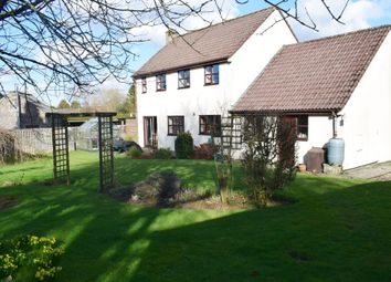 Thumbnail 4 bed detached house for sale in Mendip Road, Stoke St. Michael, Radstock