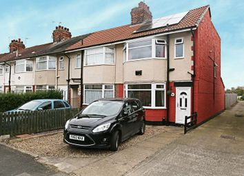 Thumbnail 3 bed end terrace house for sale in East Ella Drive, Hull