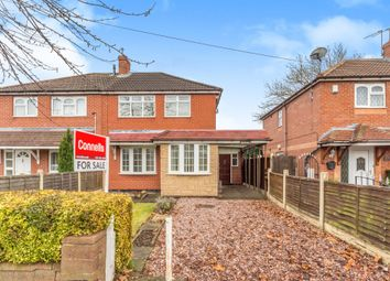 Thumbnail 2 bed semi-detached house for sale in William Green Road, Wednesbury
