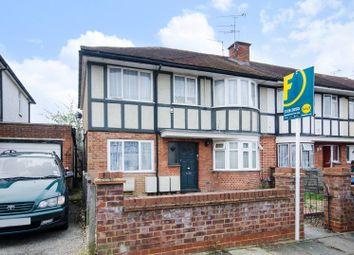 Thumbnail 1 bedroom maisonette for sale in Sandringham Crescent, Rayners Lane
