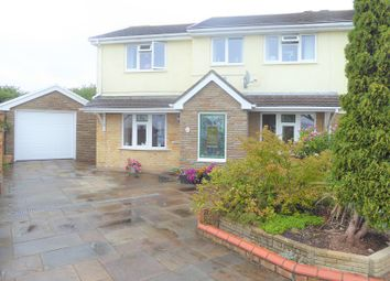 Thumbnail 4 bed semi-detached house for sale in Highfields, Brackla, Bridgend.