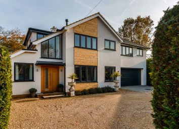 Thumbnail 4 bed detached house for sale in Clifton Close, Wrecclesham, Farnham