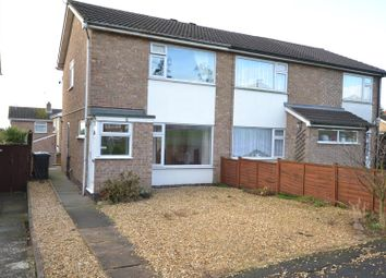 Thumbnail 2 bed semi-detached house for sale in Collingwood Drive, Sileby, Leicestershire