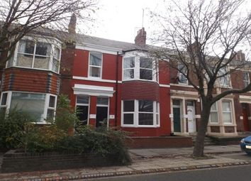 Thumbnail 3 bed flat to rent in Grantham Road, Newcastle Upon Tyne