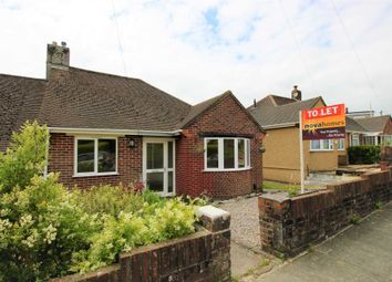 Thumbnail 2 bedroom bungalow to rent in Revel Park Road, Plympton