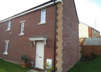 Thumbnail 3 bed semi-detached house for sale in Broadlands, Bridgend
