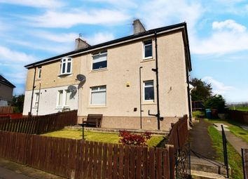 Thumbnail 2 bed flat for sale in Bent Crescent, Uddingston, Glasgow