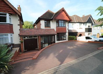 Thumbnail 3 bed detached house for sale in Burman Road, Shirley, Solihull