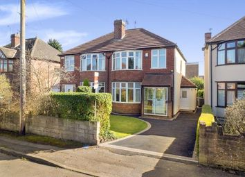 Thumbnail 3 bed semi-detached house for sale in Kenilworth Road, Beeston, Nottingham, .