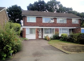 Thumbnail 3 bedroom semi-detached house for sale in Chestnut Road, Farnborough